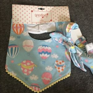 Infant Bib and headband